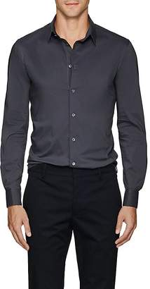 Giorgio Armani Men's Cotton-Blend Poplin Shirt