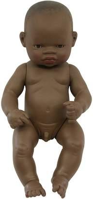 Miniland Baby Doll African Boy, 32 cm