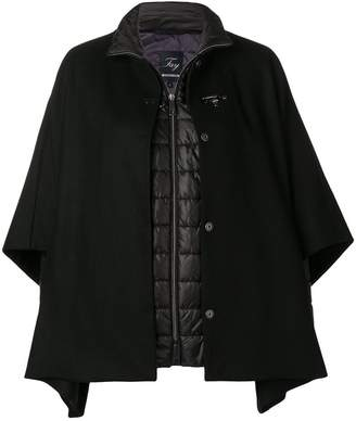 Fay cape layer padded jacket
