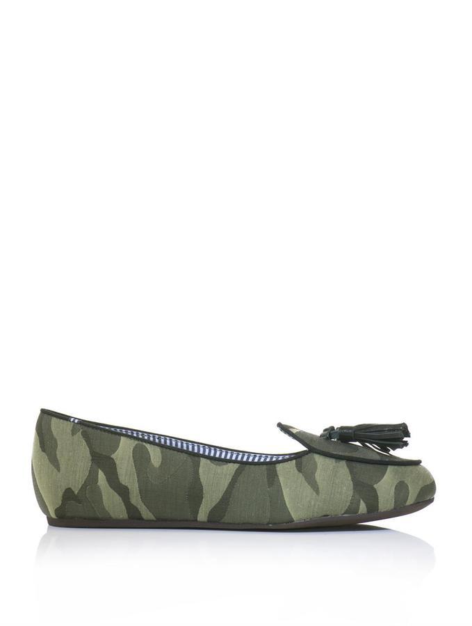 Charles Philip Shanghai Olimpia camouflage-print slippers