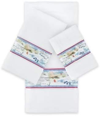 Sherry Kline Rockaway 3-Piece Embellished Bath Towel Set