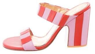 Rachel Comey Striped Leather Sandals