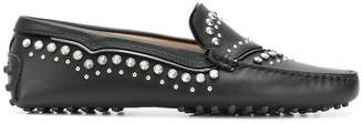 Tod's Gommini Pantofola Ricamo Tex loafers