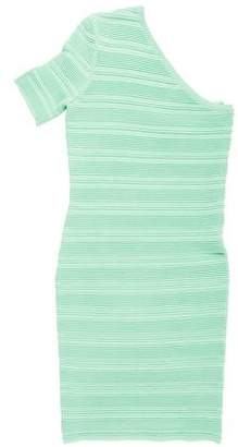 Torn By Ronny Kobo Textured Mini Dress