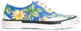 Julien David jungle print trainers
