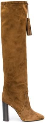 Saint Laurent Meurice tasseled boots