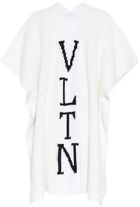 Valentino VLTN virgin wool poncho