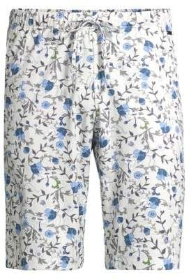 Hanro Luca Floral Jersey Shorts