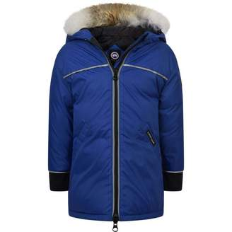 Canada Goose Canada GooseBaby Girls Blue Down Padded Reese Jacket