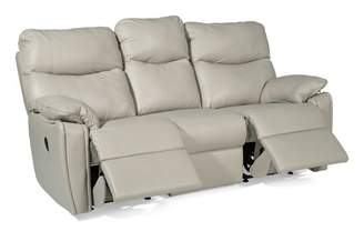 G-Plan G Plan Henley Leather 3 Seater Power Recliner Double