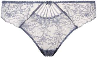 Aubade Floral Lace Thong