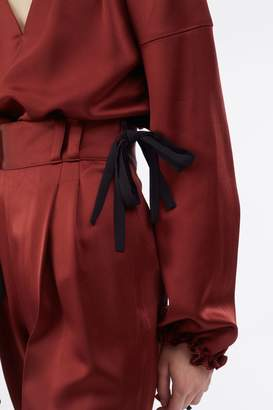 3.1 Phillip Lim Tailored Side-Tie Crepe Pant