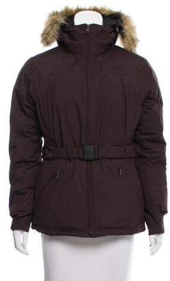 The North Face Faux Fur-Trimmed Down Jacket