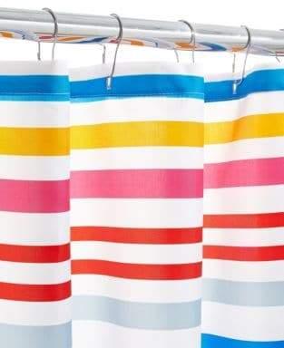 DH Vibe Stripe Shower Curtain