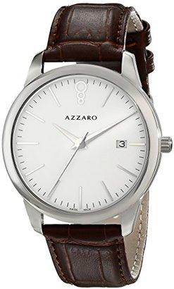 Azzaro メンズaz2040.12ah。000 Legendアナログディスプレイスイスクォーツブラウン腕時計