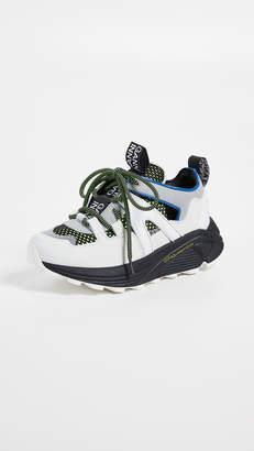 Ganni Tech Fabric Accessories Sneakers