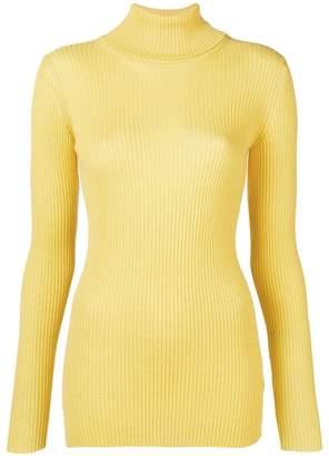 Iris von Arnim roll-neck ribbed sweater