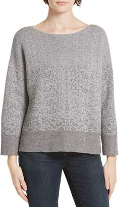 Eileen Fisher Metallic Knit Sweater
