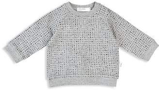 Miles Child Unisex Basic Micro-Dot Sweatshirt - Little Kid