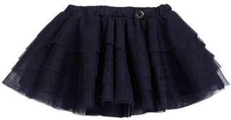 Mayoral Tiered Tulle Skirt, Size 6-36 Months