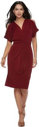 JLO by Jennifer Lopez Women's Kimono Midi Dress