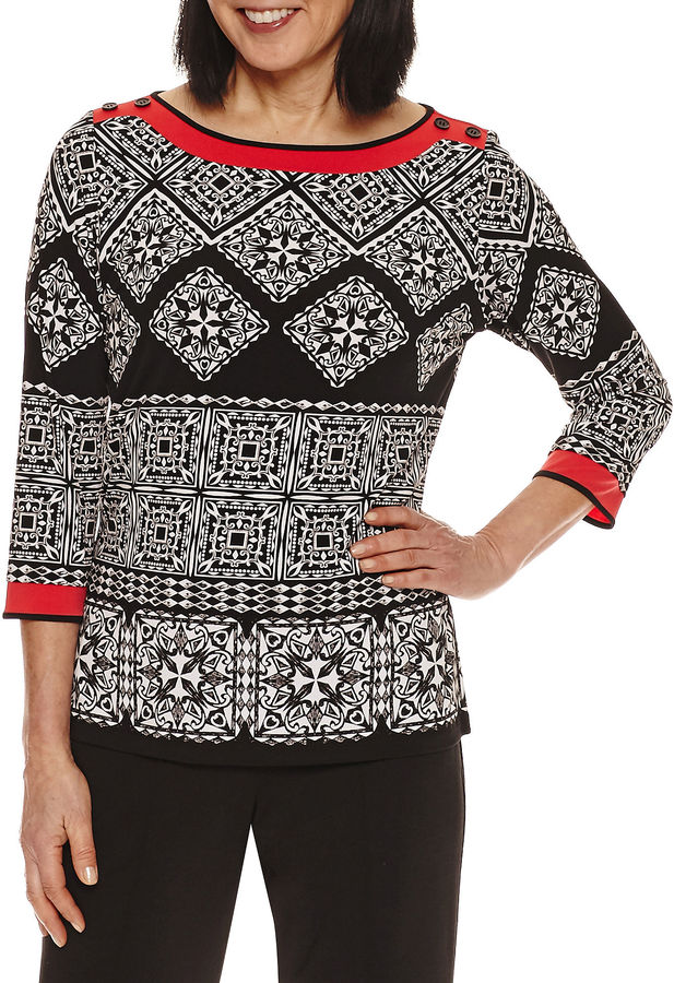 Alfred Dunner Alfred Dunner Tunic Top