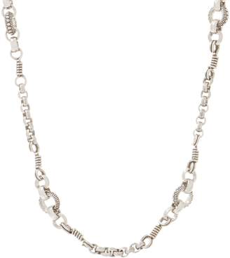 """Stephen Dweck Sterling Silver 24"""" Signature Link Necklace 26.0g"""