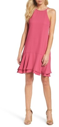 Women's Charles Henry Tiered Shift Dress $78 thestylecure.com