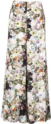 ADAM by Adam Lippes floral print wide leg trousers