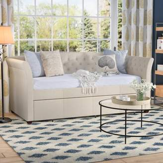 Three Posts Milligan Twin Daybed with Trundle