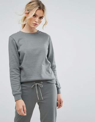 South Beach Sweatshirt In Sage Green