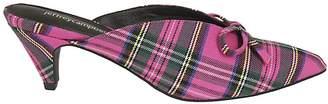 Jeffrey Campbell Plaid Pattern Sandals