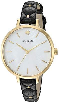 Kate Spade Women's 'Metro' Quartz Stainless Steel and Leather Watch