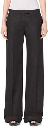 Michael Kors Wool and Cashmere Wide-Leg Pants