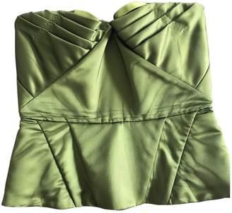 La Perla Green Cotton Top for Women