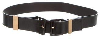 Saint LaurentYves Saint Laurent Patent Leather Waist Belt