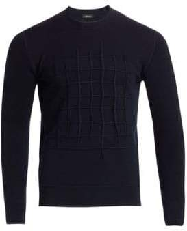 Ermenegildo Zegna French Terry Embroidered Sweater