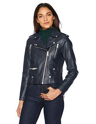 Levi's Women's Faux Leather Contemporary Motorcycle Jacket