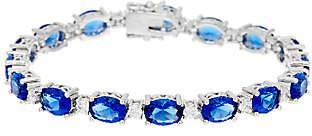 Elizabeth Taylor Simulated SapphireTennis Bracelet