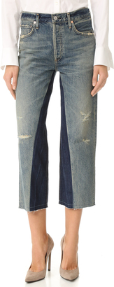 Citizens of Humanity Cora Crop Shadow Inseam Jeans $278 thestylecure.com