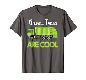 Garbage Trucks Are Cool T Shirt Trash Truck Dump Boys Shirt