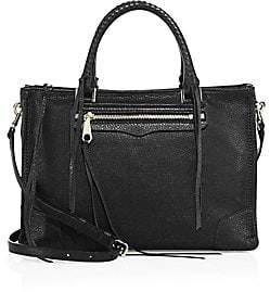 Rebecca Minkoff Women's Regan Leather Satchel