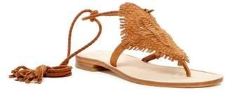 Joie Kacia Ankle Wrap Suede Sandal