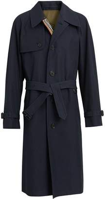 Burberry Heritage stripe gabardine trench coat