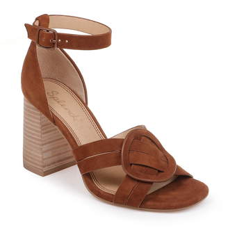 2fc0b04909b Splendid Brown Strap Women s Sandals - ShopStyle