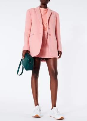 Tibi Luxe Mohair Mini Trouser Skirt