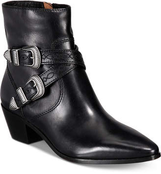 Frye Women's Ellen Buckle Short Boots Women's Shoes