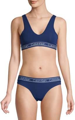 Calvin Klein Underwear Elasticized V-Neck Bralette