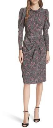 Rebecca Taylor Hudson Silk Paisley Dress