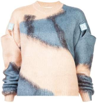 Off-White detachable sleeves sweater